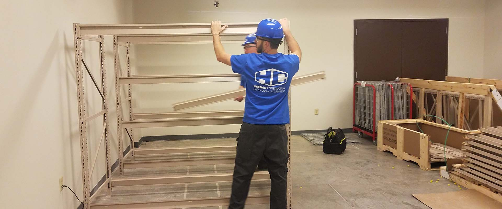 Heenan Construction, LLC Initial Outfitting, Design Build and Commercial Contracting